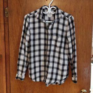 Plaid AE Button-Down Shirt